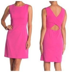 NWT Betsey Johnson Cut Out Back Scuba Crepe Dress